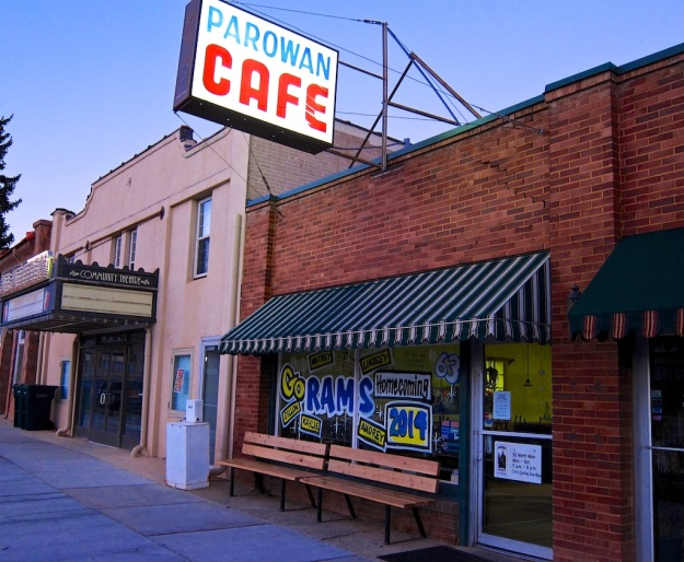 The Parowan Cafe is a classic small-town Utah diner